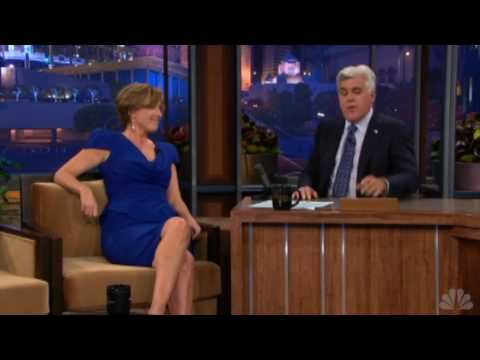 Emma Thompson @ Jay Leno 2010