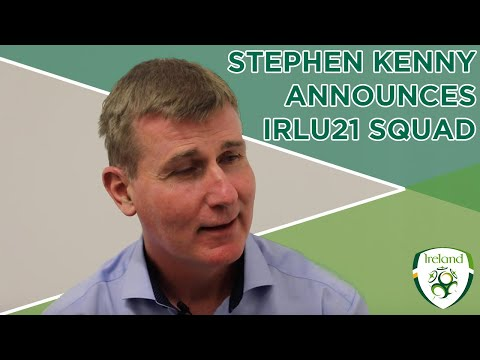 #IRLU21 INTERVIEW | Stephen Kenny names squad for Italy and Iceland qualifiers