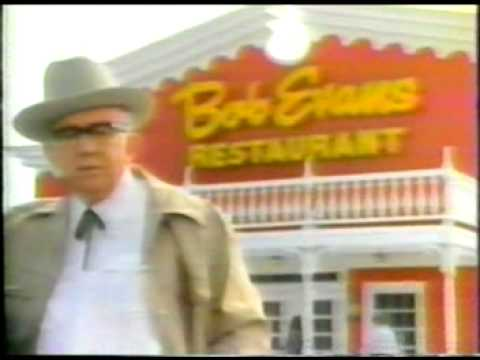 Bob Evans restaurants classic tv commercial