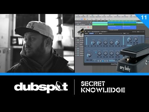 Logic Tutorial: Creating A 'Wah-Wah' Effect Using AutoFilter - Shadetek Secret Knowledge Pt 11