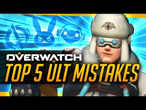Overwatch | Top 5 Ultimate Mistakes (& How To Fix Them!)