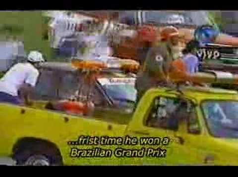 Interlagos 1993 - Last Lap + Afterwards (ENGLISH SUBTITLES) Video