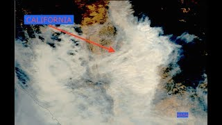 Did Woosley Fire Start at Nuclear Contaminated Site? NASA Satellite Imagery