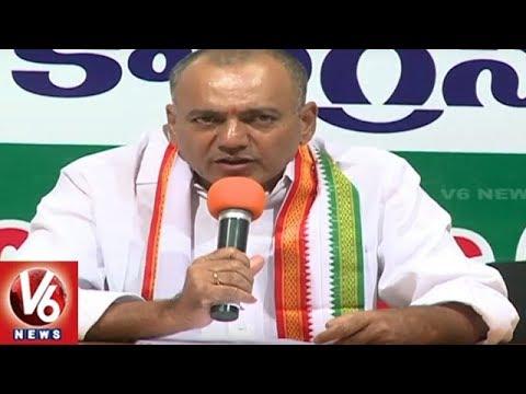 Congress Leader Gandra Venkataramana Reddy Slams TRS Govt Over Election Promises | V6 News