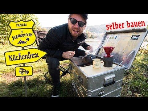 Küchenbox für Minicamper selber bauen | Integrierter Gaskocher | S4 • E3