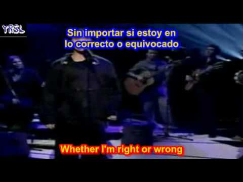 Angels -   Robbie Williams ( SUBTITULADO EN ESPAÑOL & INGLES LYRICS SUB LETRAS )