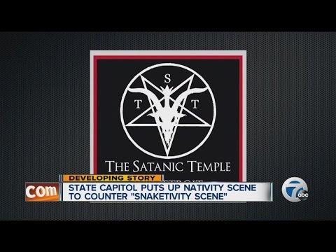 Controversy over satanic Snaketivity Scene
