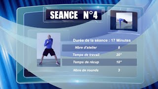 Programme fitness HIIT séance N°4