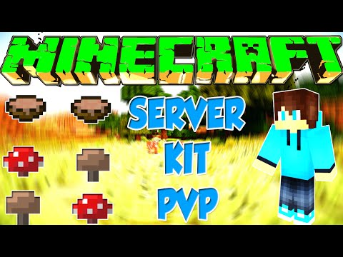 Minecraft: Server Kit PvP ~ Pirata e Original ~ 1.7