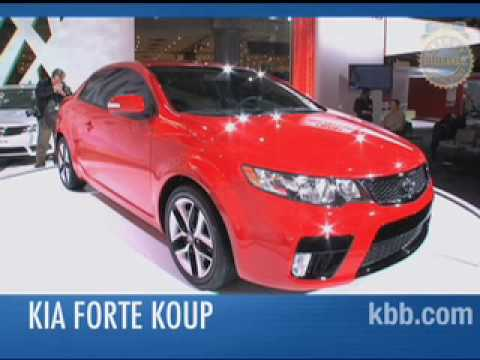 2010 Kia Forte Koup Video - Kelley Blue Book - NY Auto Show Video