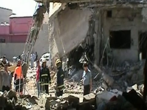 Raw: Car Bombs Target Mosque in Northern Iraq
