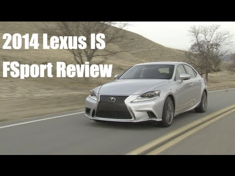 2014 Lexus IS F Sport Review on GTChannel
