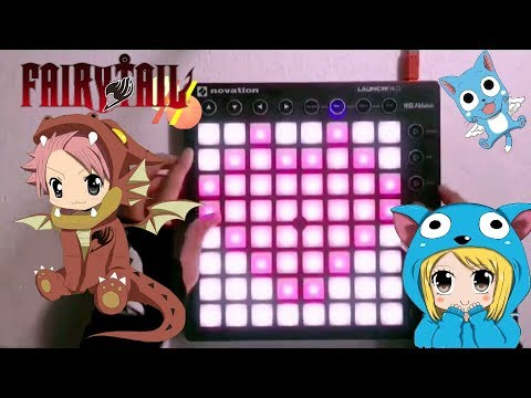 Fairy Tail OST - Main Theme // Launchpad Cover [Project File] Eren T