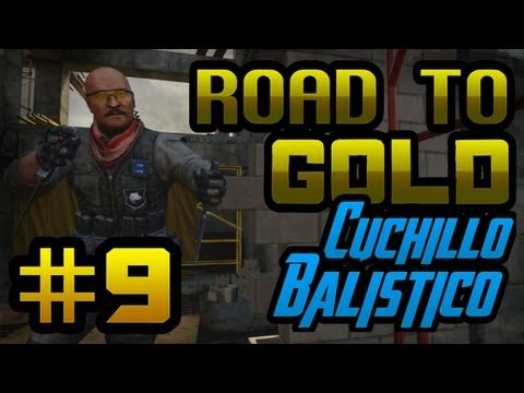 El Trinchador!! Episodio 9 - Road To Gold: Cuchillo Balístico | Willyrex
