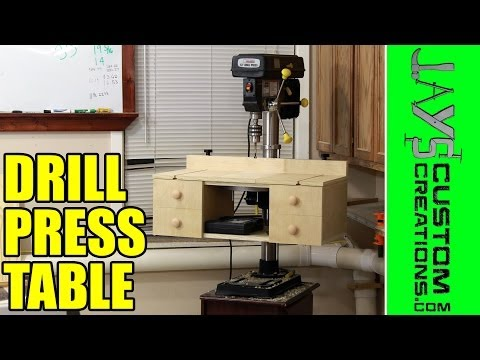 Homemade Drill Press Table: Free Plans! - 128