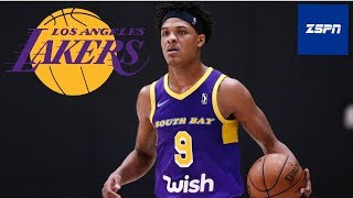 Lakers Sign G League forward Jemerrio Jones to a Two-Year Deal | Lakers News 2019