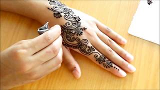 a simple henna strip 2013