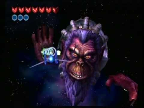 Star Fox Adventures Final Boss: Andross
