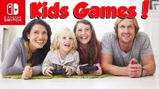 Top 10 Nintendo Switch KIDS Games You NEED!