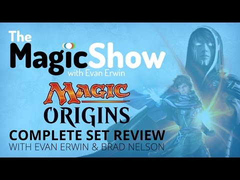 Magic Origins Complete Set Review - Blue! [Magic the Gathering]
