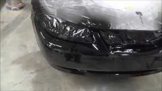 Paint Your Car At Home  How To Repair And Paint A Plastic Bumper Cover