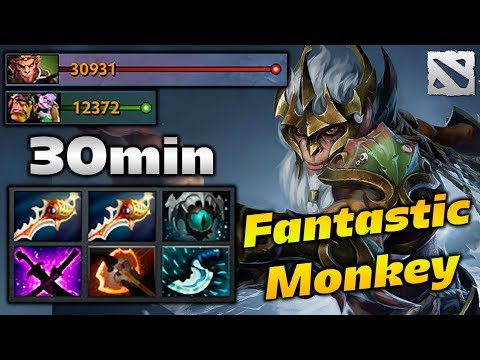 Ahjit Monkey King FANTASTIC PLAYS Dota 2