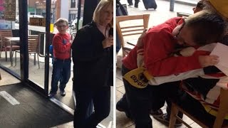 Boy Cries After Wembley Ticket Surprise