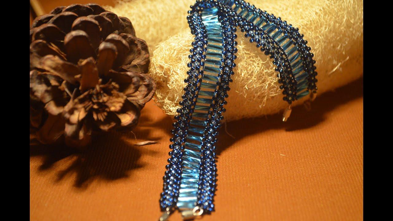 Мастер класс браслеты из бисера
