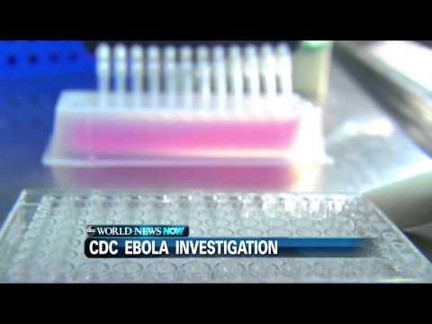 CDC Lab Technician Monitored For Ebola In Atlanta