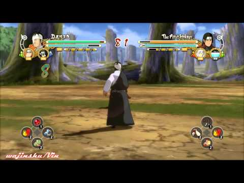Naruto Ultimate Ninja Storm 3 Danzo vs Harashima Gameplay