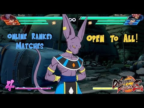No Friends? How to enter an online ranked match in Dragonball FighterZ Open Beta