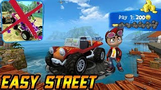 Beach Buggy Racing - Easy Street And Daily Challenge Day 1 - Version 1.2.12 (IOS,Android)