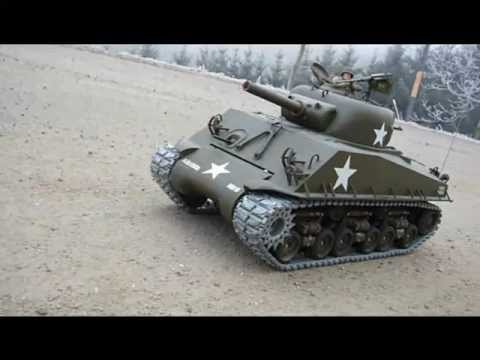 Peterbilt Truck&Sherman M4 105mm Howitzer RC Tamiya