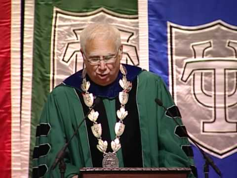 Tulane University 2010 Freshmen Convocation Video