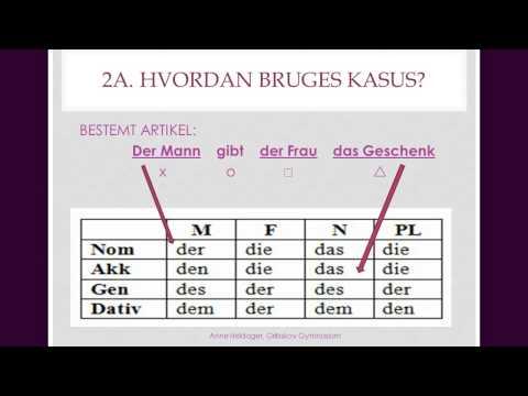 tysk kasus