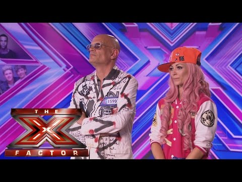 Kitten and The Hip sing KATH's Shut Up And Dance - Audition Week 1 - The X Factor UK 2014