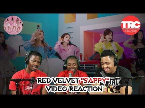 """Red Velvet """"Sappy"""" Music Video Reaction"""