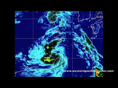 Two Storms Slam in to China & Haikui Update