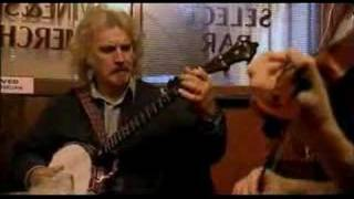 Billy Connolly plays a session in Cobblestone