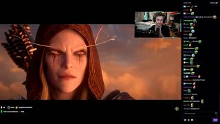 "Sodapoppin Reacts to ""Old Soldier"" Cinematic"