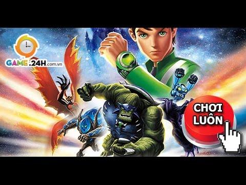 Game Ben 10: Hướng dẫn chơi game ben 10 cậu bé anh hùng 2