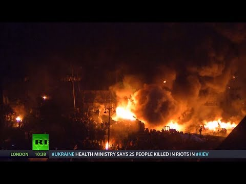 Divided Nation: Views from both sides of Kiev's barricades (RT Documentary)