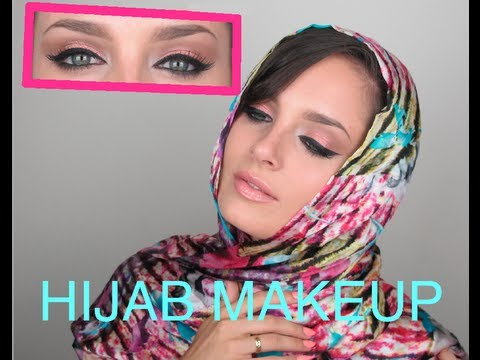 Arabic Makeup for Hijab and Headscarf wearers!