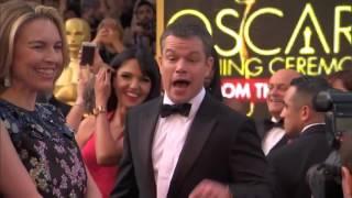 """Алкоголь-сессия на """"Оскаре"""" с Гильермо. Шоу Джимми Киммела"""