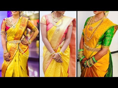 Latest wedding designer Bridal saree collections 2019 | Exclusive Wedding Saree Collection