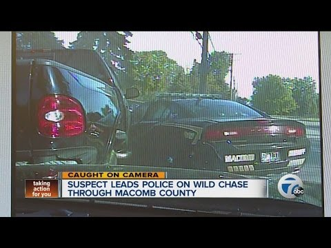 Suspect leads police on wild chase through Macomb County