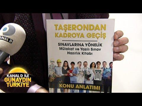 Kanal D ile Günaydın Türkiye- Taşeron sahtekarlığına dikkat!