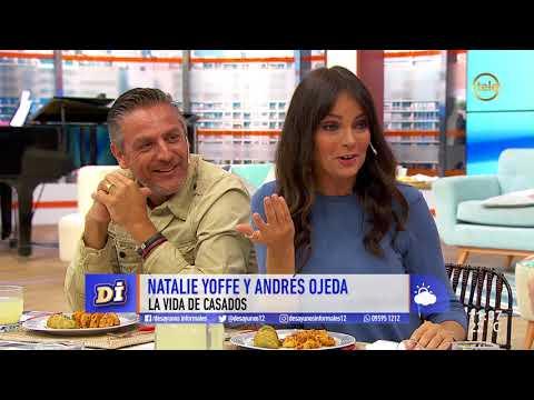 La vida de casados de Natalie Yoffe y Andrés Ojeda/ 1