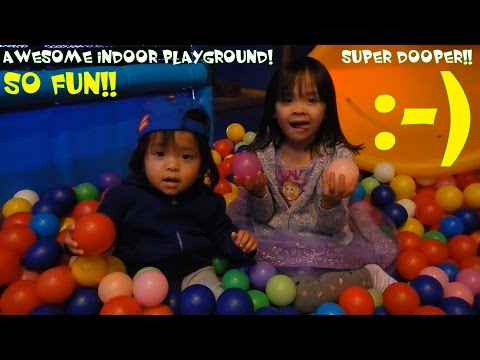 Amusement Theme Park: Hulyan, Maya and Marxlen's Trip to this Awesome Indoor Playground!