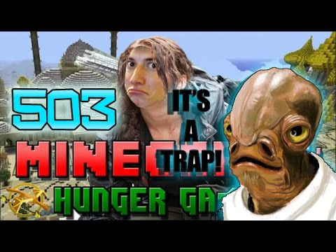 Minecraft: Hunger Games w Mitch Game 503 ITS A TRAP